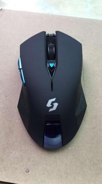 Mouse Wireless Gaming Nc-600 Black Edition Berkualitas
