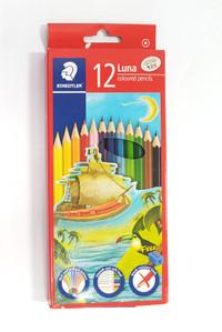 Pensil Warna Luna Staedtler 12 warna panjang