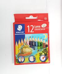 Pensil Warna Luna Staedtler 12 warna pendek