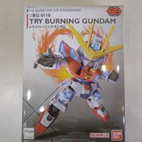 Gundam SD ex-standard try burning