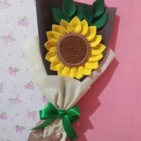 (READY) Bunga Matahari / Bunga Bucket Matahari / Hadiah Wisuda