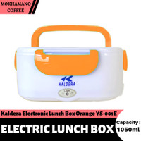 Kaldera Electronic Lunch Box Kotak Makan Siang Elektrik 1050ml Orange