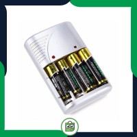 Charger Baterai 4 slot with Indicator for AA AAA Ni-Mh Nicd - BC-2071