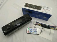 Car Audio Mobil Head Unit Tape Single Din 1Din Radio Mp3 Usb Bluetooth