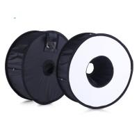 murah Universal Ring Softbox Flash Diffuser for Camera DSLR
