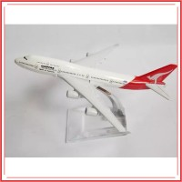 Miniatur Diecast Pajangan Pesawat Terbang Australia Qantas Airlines