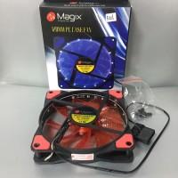 Fan Case 12Cm Lampu Magix 120MM PC Case Fan Casing LED 12 Cm