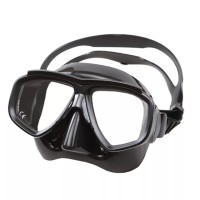 diving mask with prescription lens