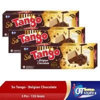 WAFER SO TANGO BELGIAN CHOCOLATE 135GR [ISI 3PCS]