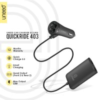 UNEED Sharing Car Charger QuickRide with Quick Charge 3.0 – UCC403