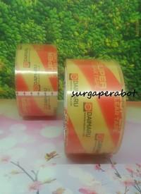Lakban Daimaru Super Clear Single Pack 48mm x 50M Bening Transparan