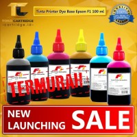 Tinta isi ulang Printer Epson F1 100ml Refill Ink Tank infus Dye Base
