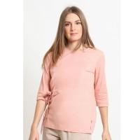 Rodeo - Blouse Wanita - Audrie Top - Pink Peach
