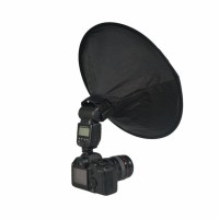 ready Collapsible Ring Softbox Flash Diffuser 42cm for Speedlite