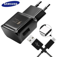 Charger Samsung Galaxy s8 s9 s10 a7 2018 a9 2018 Type C Fast Charging