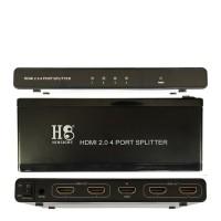 HDMI 2.0 Splitter 4 Port UHD 4K 2160P 60 Hz (HINEIGHT(H8))