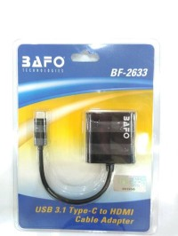 Kabel Type C USB To HDMI - Merk Bafo (BF-2633)