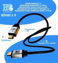 Kabel HDMI To HDMI V2.0b UHD 4K 1 Meter (HINEIGHT(H8))