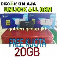 Modem Mifi XL GO IZI 4G Movimax Free Kuota 20GB 24 JAM