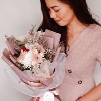 Lovely Flower - Buket Bunga Kecil Valentine Gift Birthday