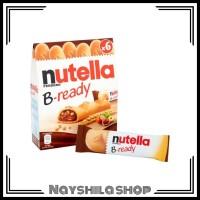 Ferrero Nutella B-Ready 1box x6pcs 132g