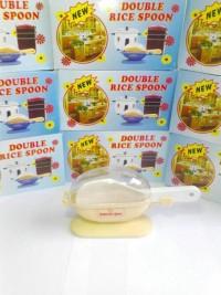 siap kirim centong nasi anti lalat higienis New Double Rice Spoon isi