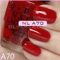 OPI Lacquer / Nail Polish / OPI Red Hot Rio / OPI A70