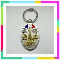 RD Souvenir gantungan kunci Eiffel Paris oleh oleh negara Perancis Fra