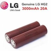 Baterai vape LG Hg2 18650 3000 mAh Authentic (not awt, mxjo atau