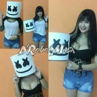 Sangat Laris Topeng / Helmet Dj Marshmello ( Size Kids )
