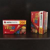 Agfa Vista plus 200 36exp roll film 35mm 135mm