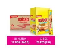 Richeese Nabati Wafer Keju 8 gr (20 pcs)