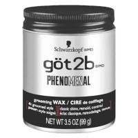 Schwarzkopf Got2B Phenomenal Grooming Wax 99G