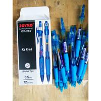 Pulpen Gel Joyko GP-265 Q-Gel 0.5mm / Pulpen Joyko Q-Gel ( Perlusin )