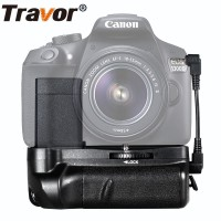 Battery Grip For Canon EOS 1100D 1200D 1300D Rebel T3 T5 T6 Camera