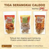 Paket Hemat Frozen Food Ayam Kampung: Karage, Popcorn dan Bakso.