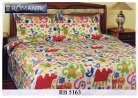 ROMANTIC Bedcover Sprei Animal Binatang 180 x200x20 Katun Jepang