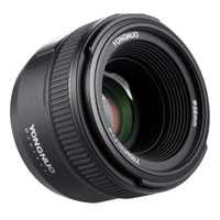 Lensa Fix Yongnuo YN 50mm F/1.8 for NIKON DSLR, lensa fix 50mm