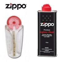 Minyak Zippo Plus Batu Zippo Set