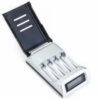 Cas Batre Charger Baterai Casan Smart AA AAA LCD 4 Slot Taffwa Limited
