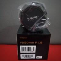 Lensa Fix Yongnuo 50mm For Canon F 1.8
