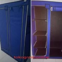 Flash Sale Lemari Baju / Storage Box / Rak Pakaian Merk Nine Box Type