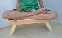 Meja lipat laptop lesehan belajar tv tulis makan kayu jati bel Limited