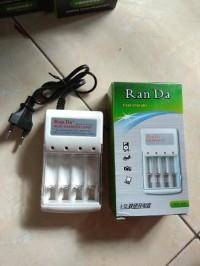 JUALANMURAH Charger Baterai Battery Batre AA A2 AAA A3 Recharg Limited