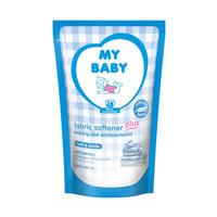 MY BABY SOFTENER 700ml/CAIRAN PELEMBUT PAKAIAN BAYI Soft & Gentle biru