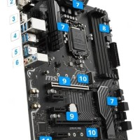 motherboard Gaming PC