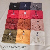 NEW Loose sweatshirt / sweater murah / sweater pastel / sweatshirt