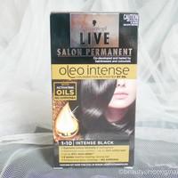 SCHWARZKOPF Live Salon Permanent Oleo Intense Hair Color Intense Black