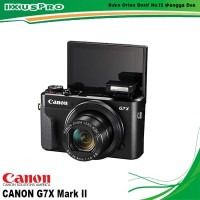 CANON POWERSHOT G7X MARK II DIGITAL CAMERA --- CANON G7 X MARKII