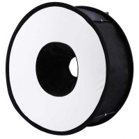 Promo Universal Ring Softbox Flash Diffuser for Camera DSLR Best